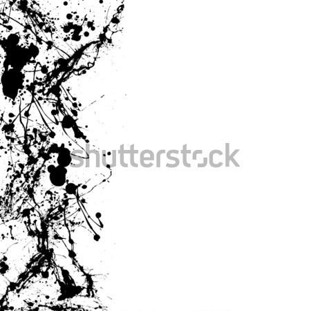 ink splat dribble Stock photo © nicemonkey