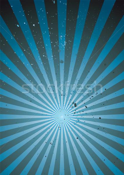 radiate blue grunge light Stock photo © nicemonkey