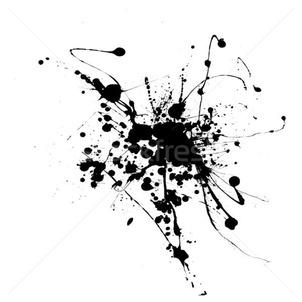 spider ink splat Stock photo © nicemonkey