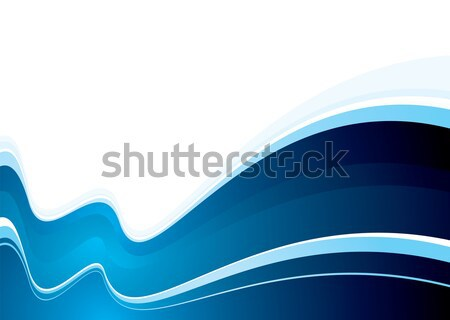 ocean swell blue Stock photo © nicemonkey