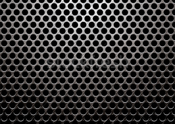 dark metal brushed Stock photo © nicemonkey
