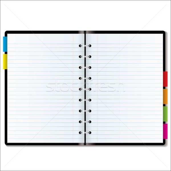 organizer blank Stock photo © nicemonkey