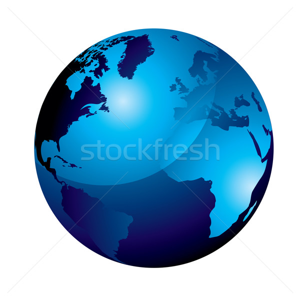 gel globe blue Stock photo © nicemonkey