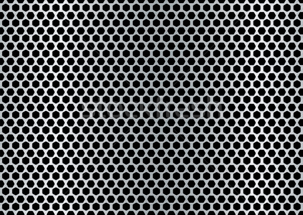brushed hexagon background Stock photo © nicemonkey