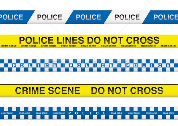 police tape Stock photo © nicemonkey