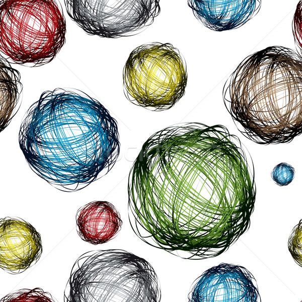 scribble ball color Stock photo © nicemonkey