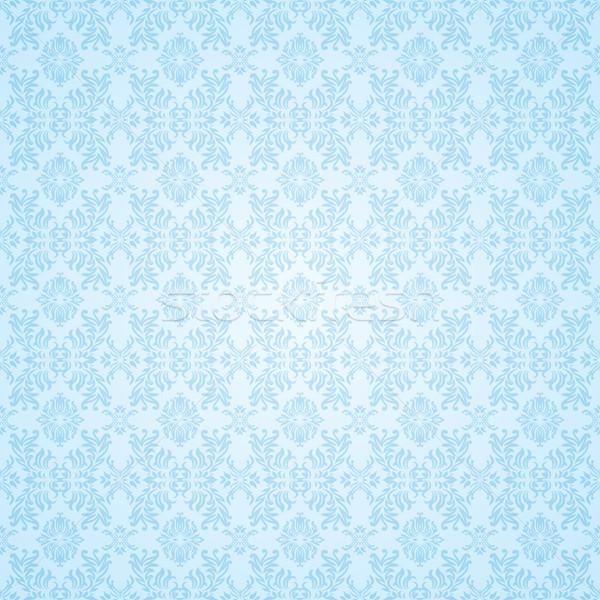 gothic blue seamless wallpaper Stock photo © nicemonkey