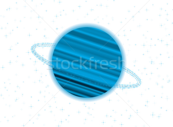 saturn twist Stock photo © nicemonkey