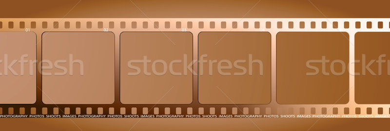 brown film outline gradient Stock photo © nicemonkey