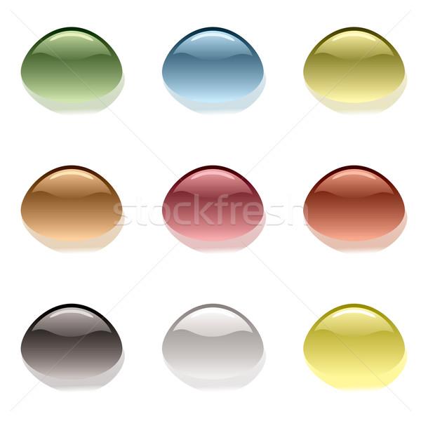 Gocciolina variazione raccolta nove colore Foto d'archivio © nicemonkey