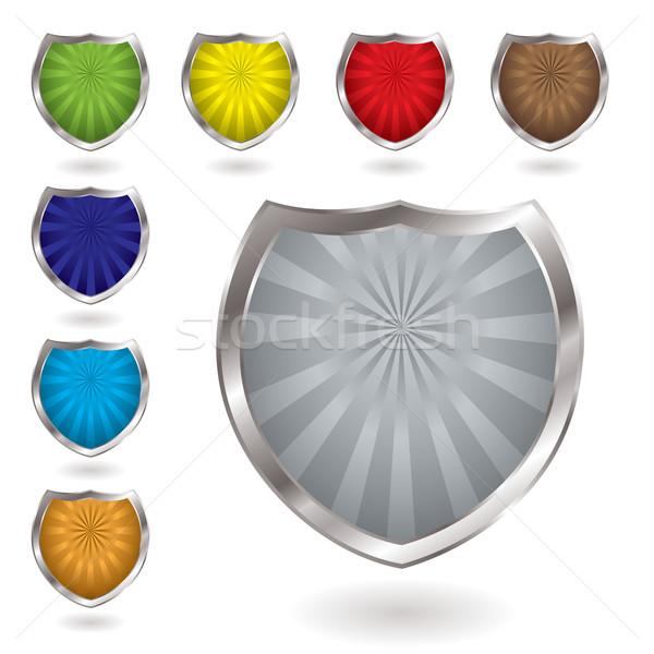 radiate shield Stock photo © nicemonkey
