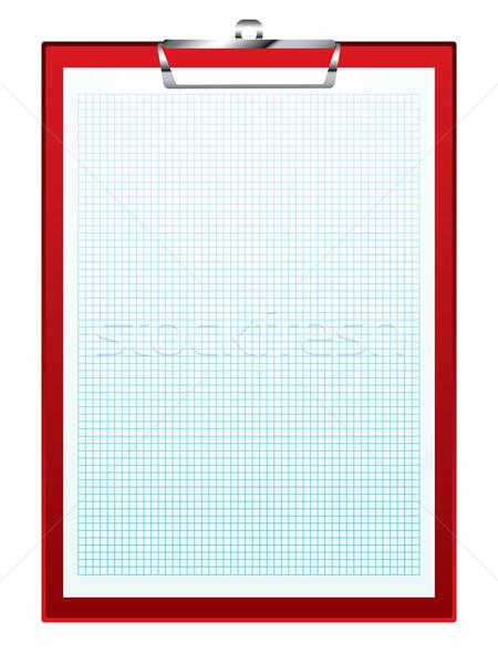 clip board graph paper Stock photo © nicemonkey