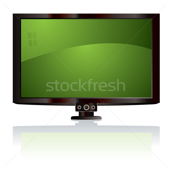 lcd tv green Stock photo © nicemonkey