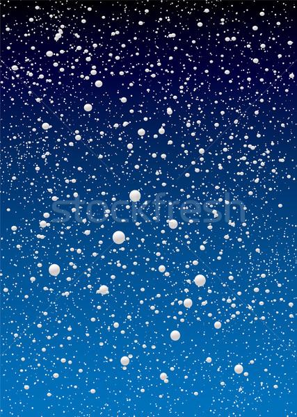 snowflake sky Stock photo © nicemonkey