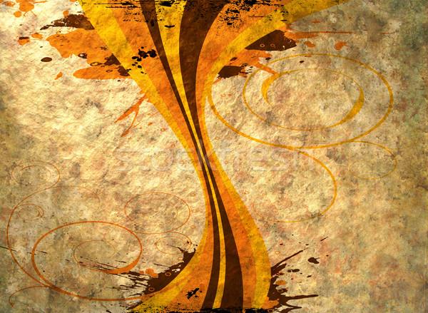 Zeventig ontwerp afbeelding papier abstract Stockfoto © nicemonkey