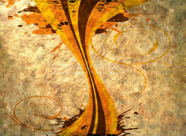 Settanta design immagine carta abstract Foto d'archivio © nicemonkey