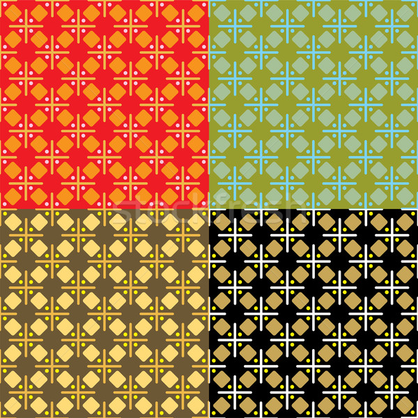 abstract seventies cross multi Stock photo © nicemonkey