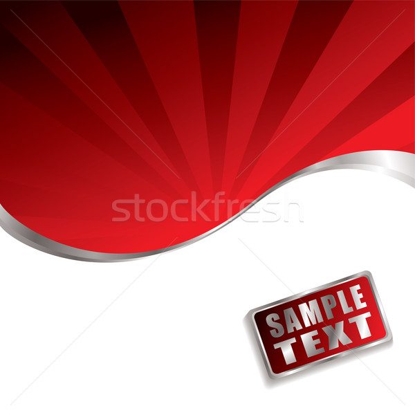 red radiate bevel Stock photo © nicemonkey