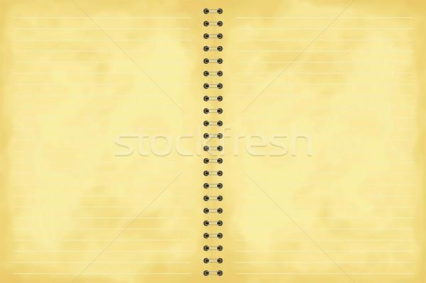aged note pad Stock photo © nicemonkey
