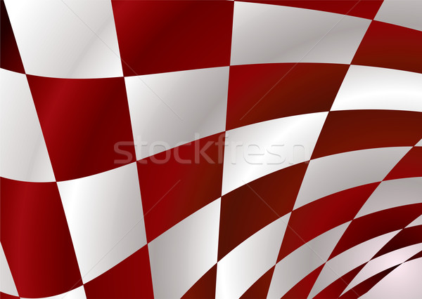red checker Stock photo © nicemonkey