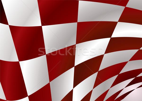 red checker Stock photo © nicemonkey