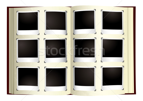 photo album Stock photo © nicemonkey
