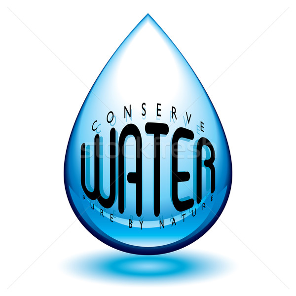 conserve water Stock photo © nicemonkey