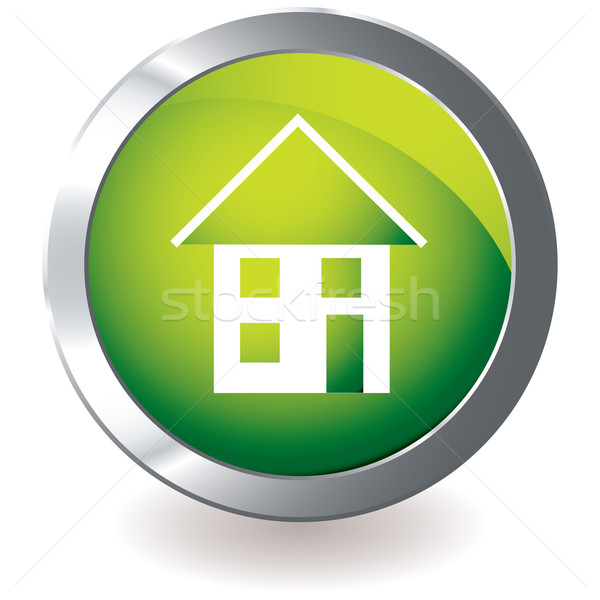 green icon house Stock photo © nicemonkey
