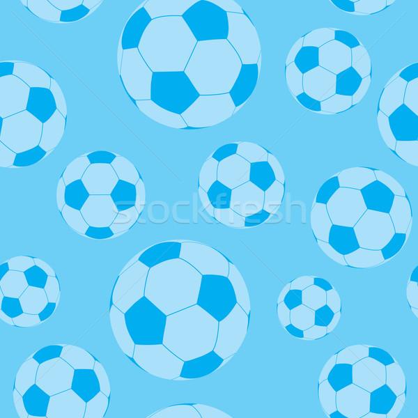 seamless football wallpaper Stock photo © nicemonkey