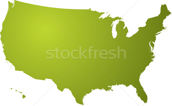 us map green Stock photo © nicemonkey