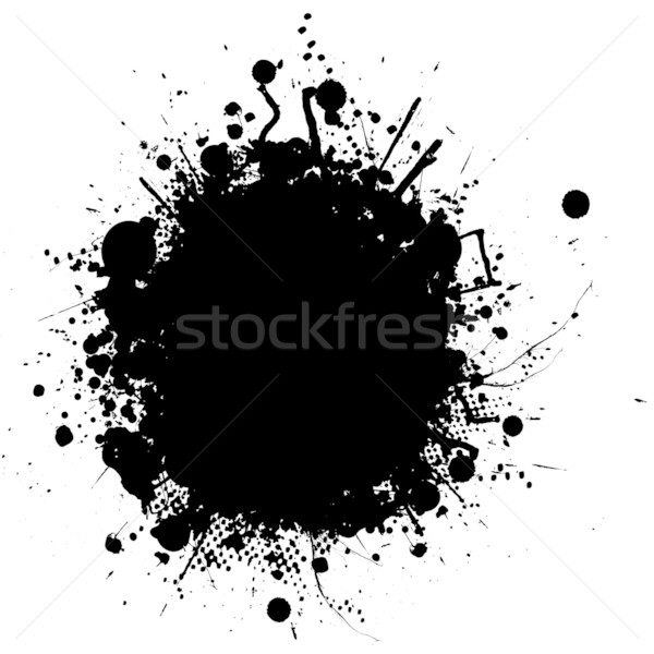 ink splat blob Stock photo © nicemonkey