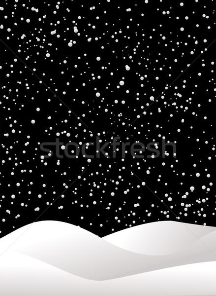night flurry Stock photo © nicemonkey