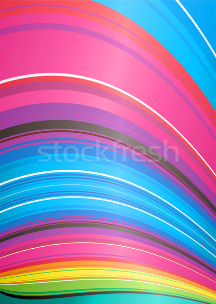 abstract rainbow ridge Stock photo © nicemonkey