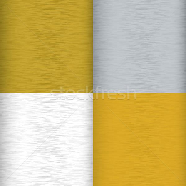 Métal variation quatre couleur grain résumé Photo stock © nicemonkey