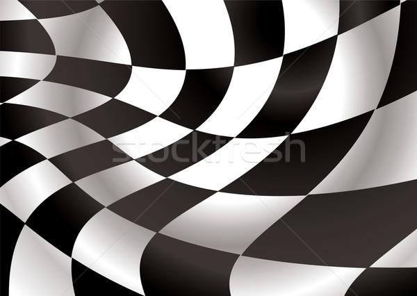 checkered flap Stock photo © nicemonkey