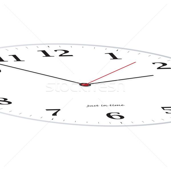 clock slant Stock photo © nicemonkey