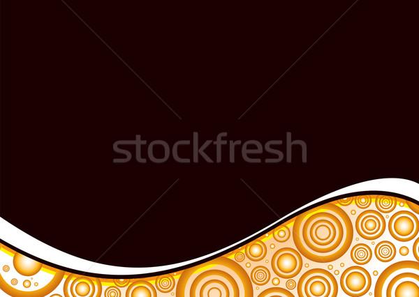 Stock photo: orange crush