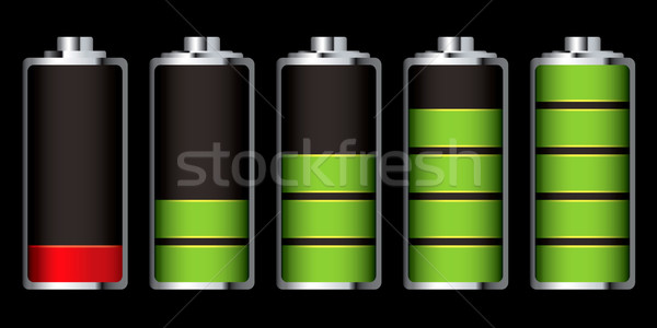 battery charge section Stock photo © nicemonkey