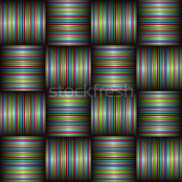 candy stripe weave Stock photo © nicemonkey