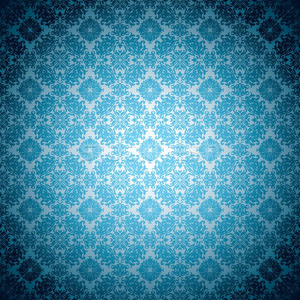 gothic pale blue wallpaper Stock photo © nicemonkey