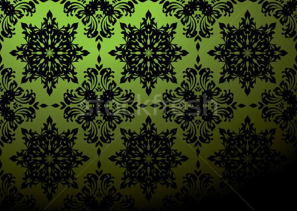 green wallpaper blend Stock photo © nicemonkey
