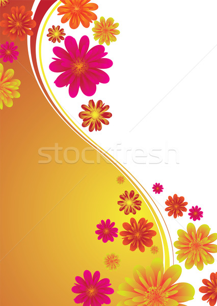 classy floral band Stock photo © nicemonkey