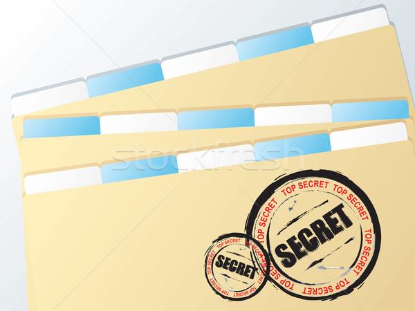 business folder secret Stock photo © nicemonkey