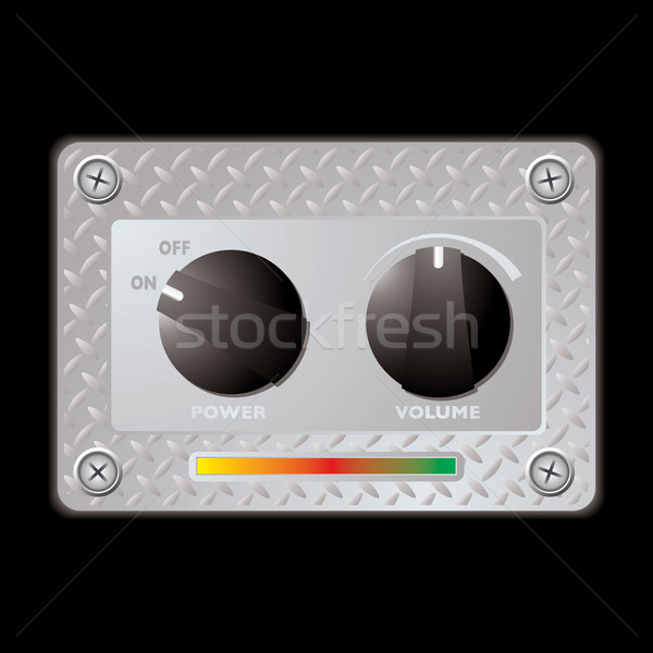 switch metal panel duo Stock photo © nicemonkey