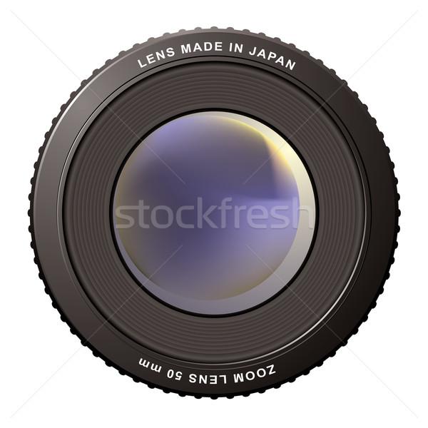 zoom lens misty Stock photo © nicemonkey