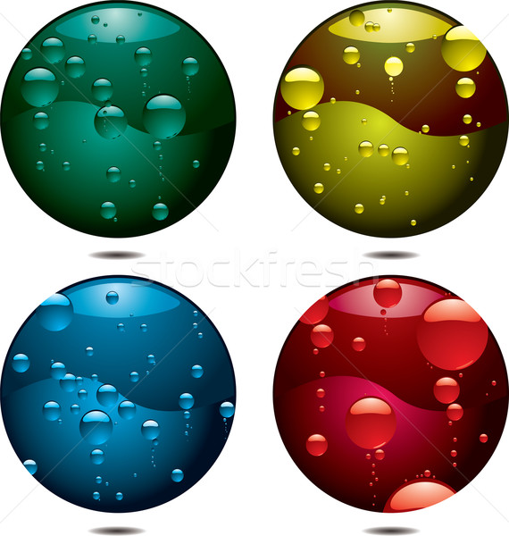 bubble button Stock photo © nicemonkey