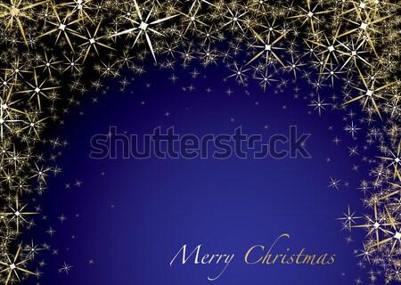 christmas snow drift Stock photo © nicemonkey