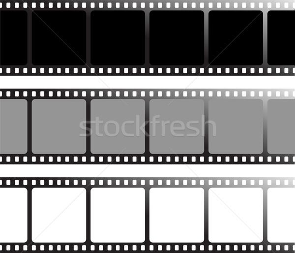 Különböző film három variáció rajzolt konzerv Stock fotó © nicemonkey