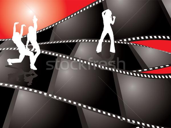 film background dance Stock photo © nicemonkey