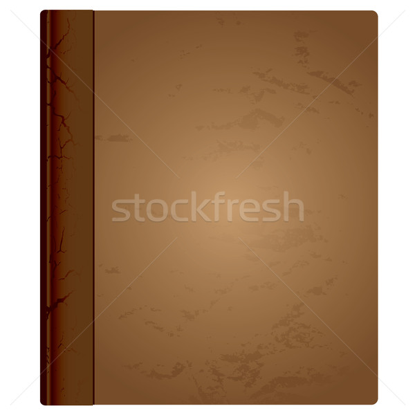 leather book bound Stock photo © nicemonkey
